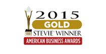 Gold Stevie Award for Customer Service Department of the Year 2015