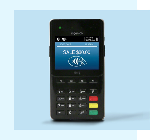 Worldpay payment terminal