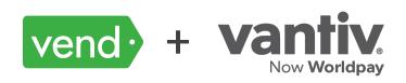 Vend plus Vantiv logos
