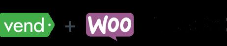 Vend plus WooCommerce logos