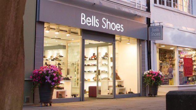 Bells Shoes storefront