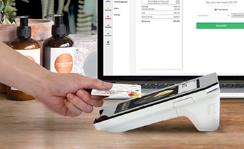CommBank payment terminal with Vend POS
